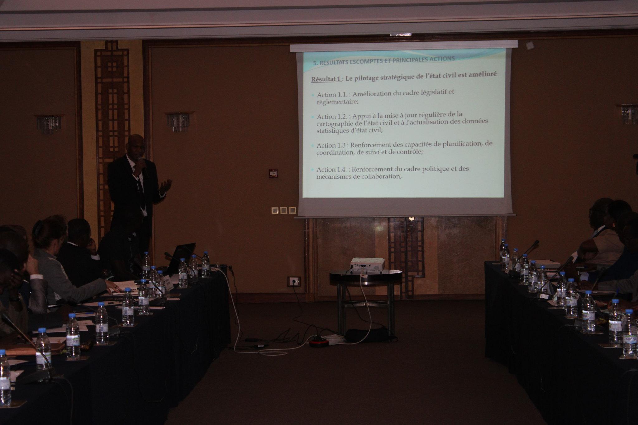 Programme Direction Etat Civil, Modernisation de l'Etat Civil au Sénégal, Aliou Ousmane Sall Directeur de l'Etat Civil Sénégal (13)