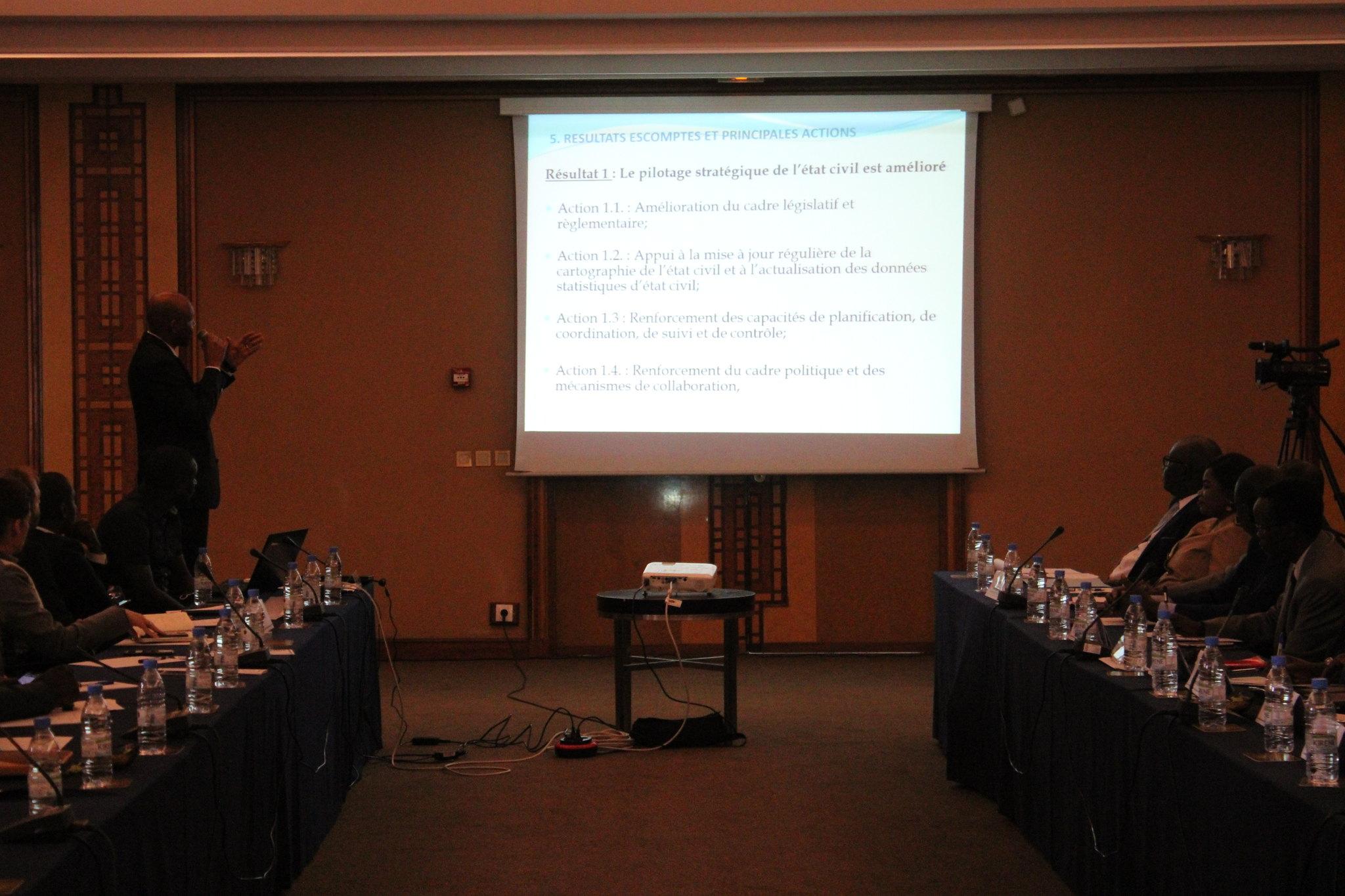 Programme Direction Etat Civil, Modernisation de l'Etat Civil au Sénégal, Aliou Ousmane Sall Directeur de l'Etat Civil Sénégal (12)