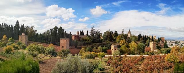L'Alhambra de Grenade, Andalousie, Espagne, Spain - 0030