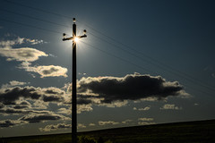 Power Line - Montepulciano, Italy