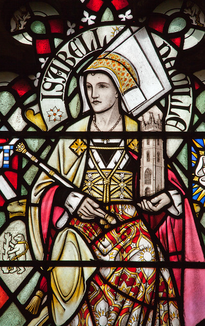 Stained glass detail, Cardiff Castle