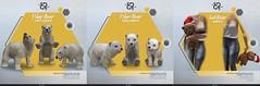 [Rezz Room] Polar Bear Adult  and Baby Animesh  (companion) + Animesh Free Christmas Gift