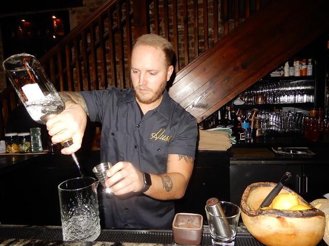 bartender at work