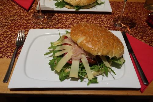 Italienischer Burger (meiner)