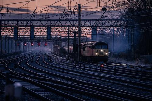 56087 56094 6m32 preston colas ribble rail tanks oil dawn 1z10 morning