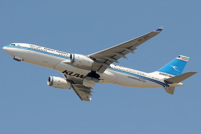 9K-APC - Airbus A330-243 - Kuwait Airways @ FCO