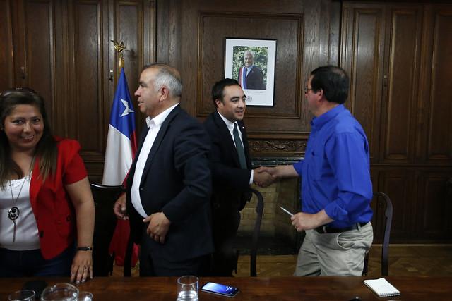 Reunion con el Alcalde de Los Alamos y concejales.