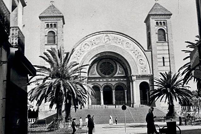 1963.09.058 ORAN  -  la cathédrale