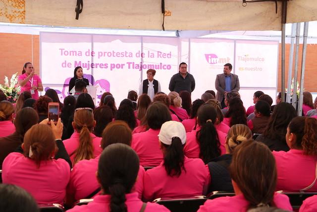 Toma de Protesta de Red de Mujeres por Tlajomulco IMMT