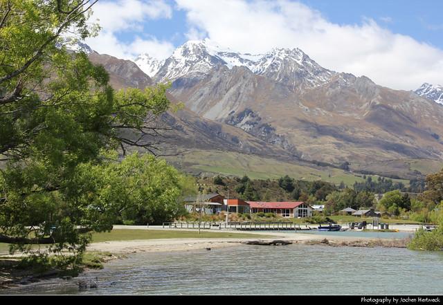 Glenorchy & Mount Larkins Range, New Zealand