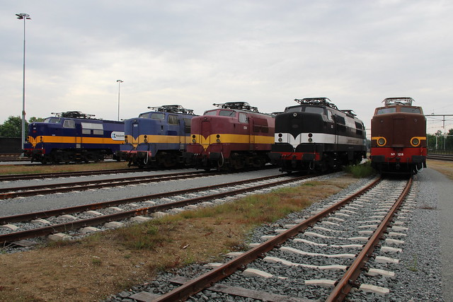 2019-05-26; 0049. Railexperts 1251, KLOK 1255, Fairtrains 1254, RFS 1252 en KLOK 1218. Rail & Road Event, Blerick.