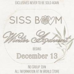 -siss boom- 2019 winter advent
