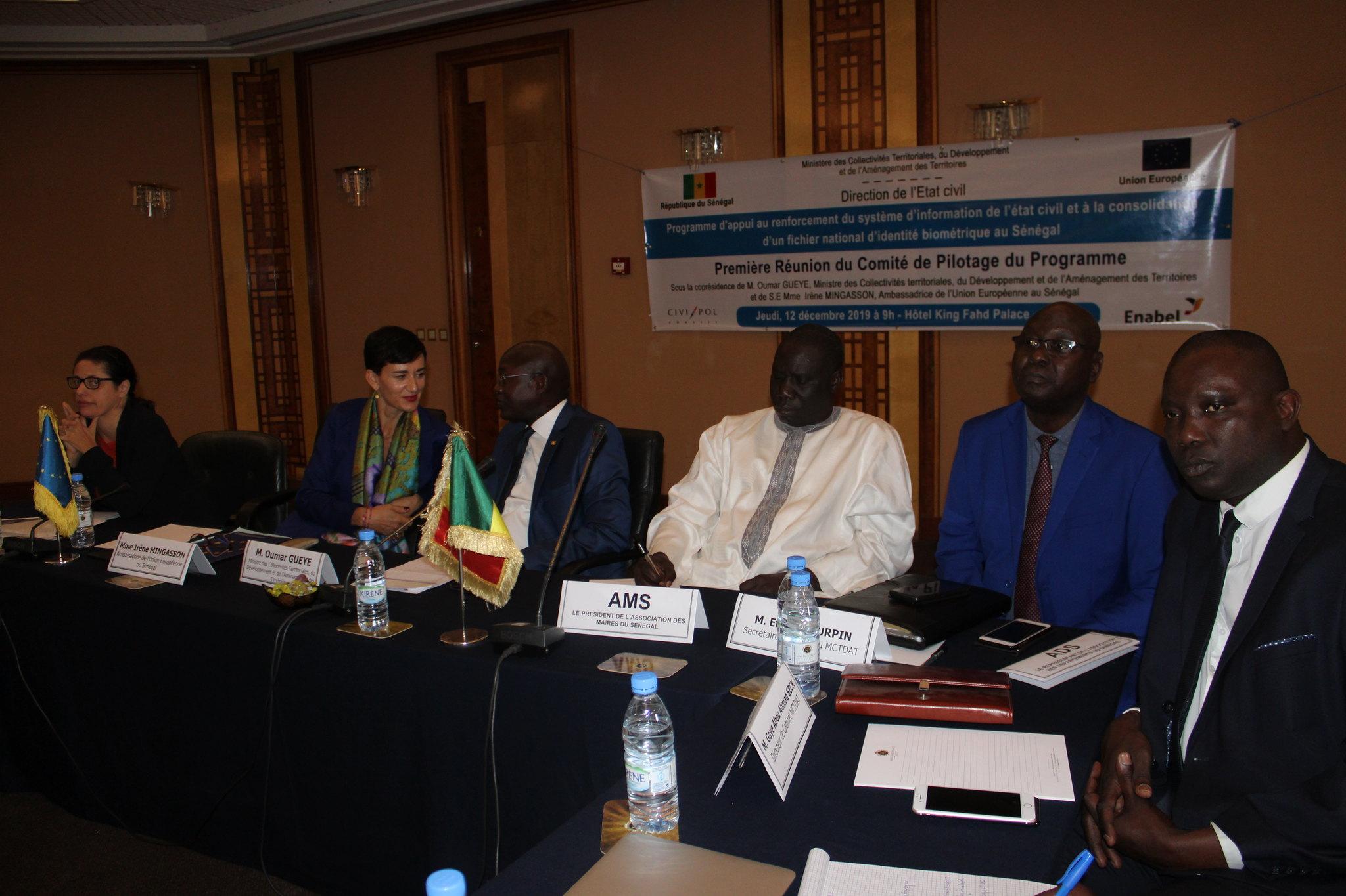 Programme Direction Etat Civil, Modernisation de l'Etat Civil au Sénégal, Aliou Ousmane Sall Directeur de l'Etat Civil Sénégal (10)