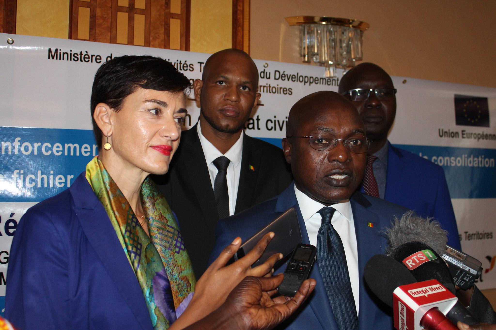 Programme Direction Etat Civil, Modernisation de l'Etat Civil au Sénégal, Aliou Ousmane Sall Directeur de l'Etat Civil Sénégal (3)