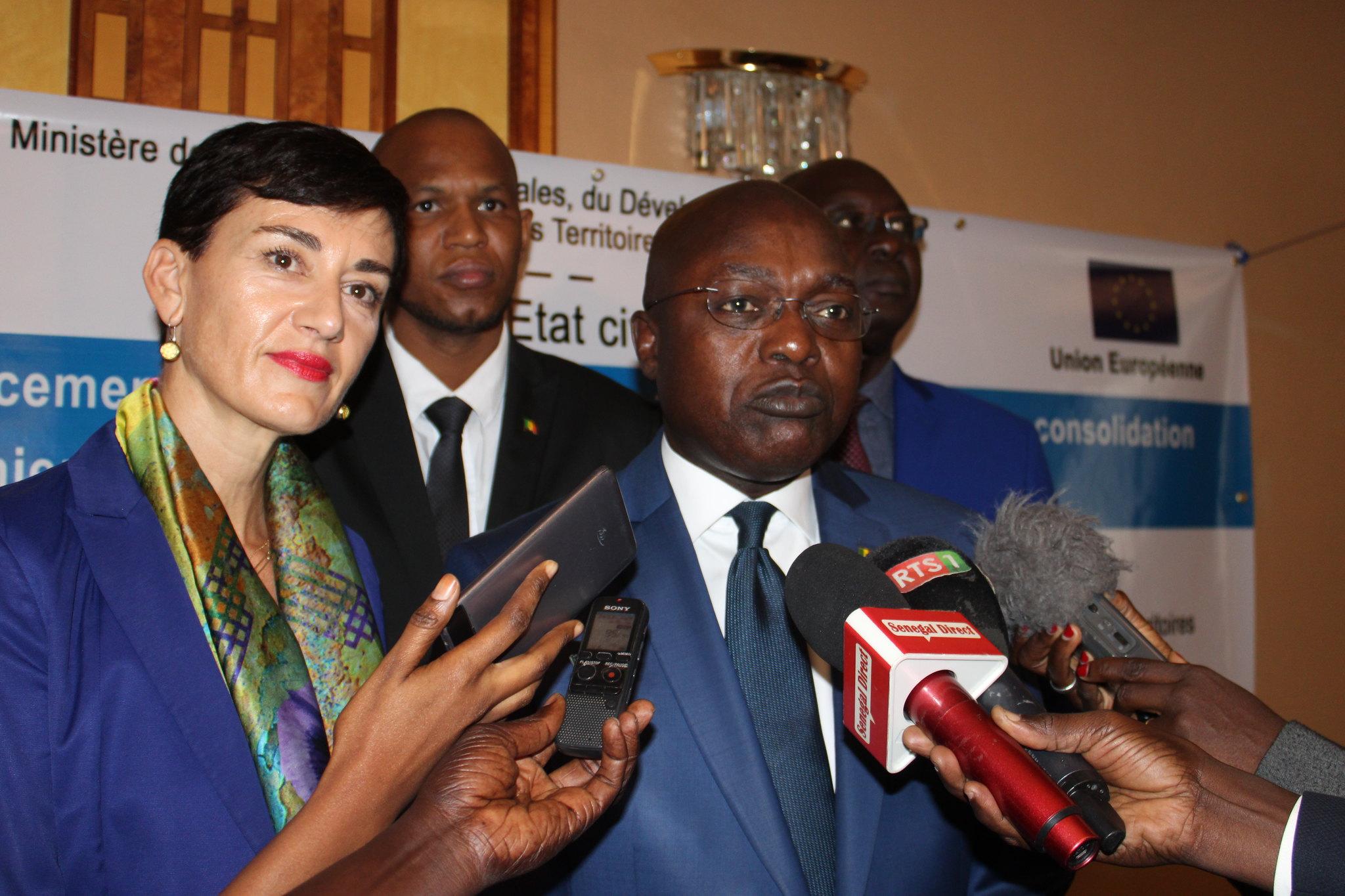 Programme Direction Etat Civil, Modernisation de l'Etat Civil au Sénégal, Aliou Ousmane Sall Directeur de l'Etat Civil Sénégal (1)