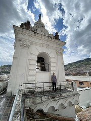 From the Domes of el Francisco at an elevation of 2,818 meters (9,245 ft) above sea level, Ecuador.