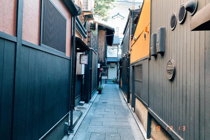 京都祇園花見小路小袖小路