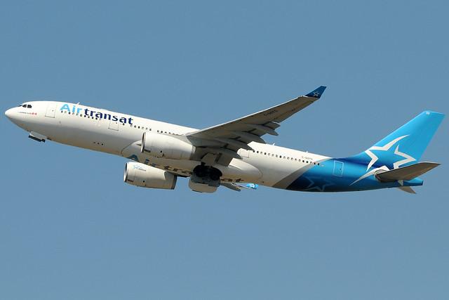 C-GGTS - Airbus A330-243 - Air Transat @ FCO