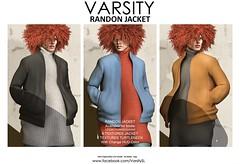 VARSITY / RANDON JACKET @ equal10