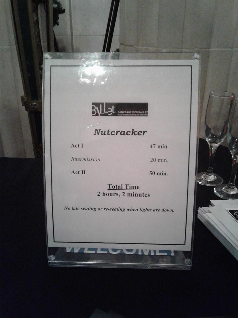 Opening night of SF Ballet's Nutcracker 75