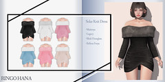 RINGO HANA - Solar Knit Dress @ equal10