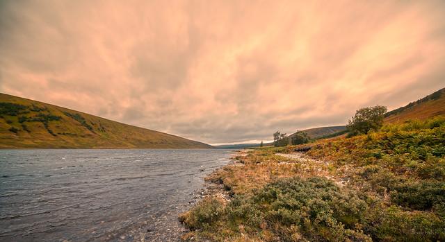 Loch a' Chroisg, Achnasheen, Scotland.