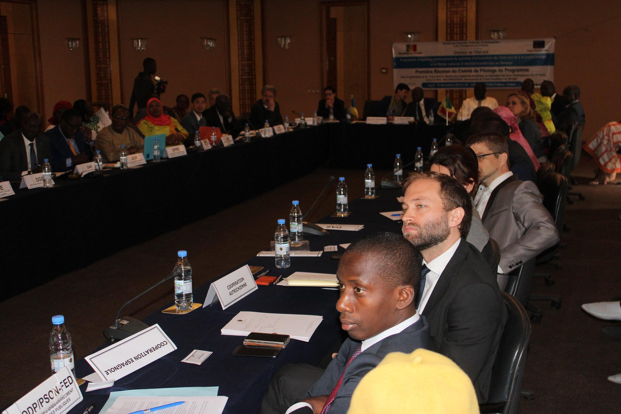 Programme Direction Etat Civil, Modernisation de l'Etat Civil au Sénégal, Aliou Ousmane Sall Directeur de l'Etat Civil Sénégal (8)