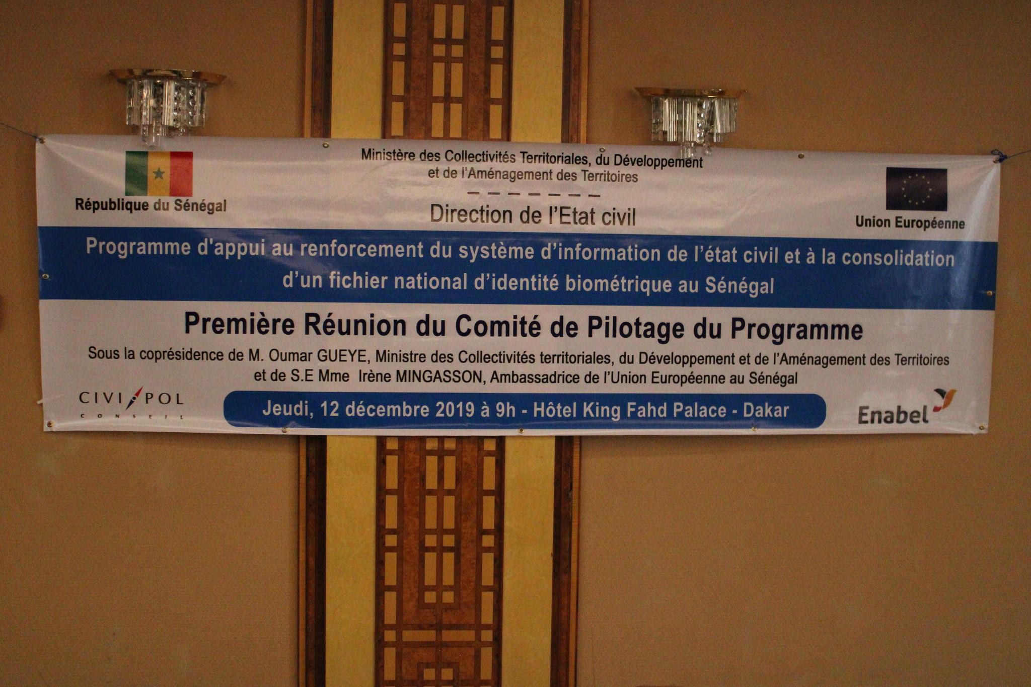 Programme Direction Etat Civil, Modernisation de l'Etat Civil au Sénégal, Aliou Ousmane Sall Directeur de l'Etat Civil Sénégal (7)