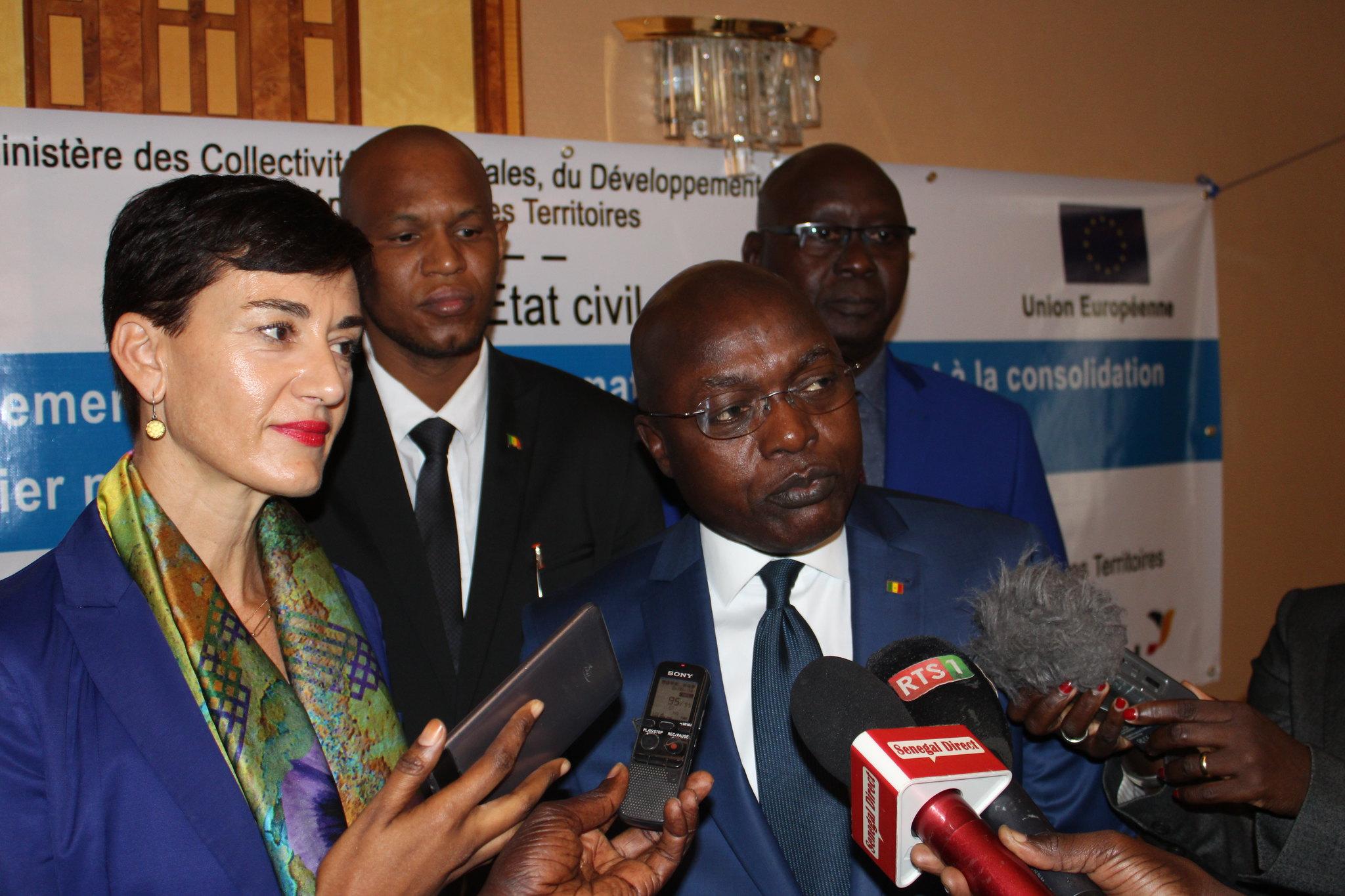 Programme Direction Etat Civil, Modernisation de l'Etat Civil au Sénégal, Aliou Ousmane Sall Directeur de l'Etat Civil Sénégal (2)