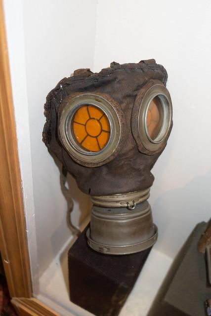 WWI gas mask