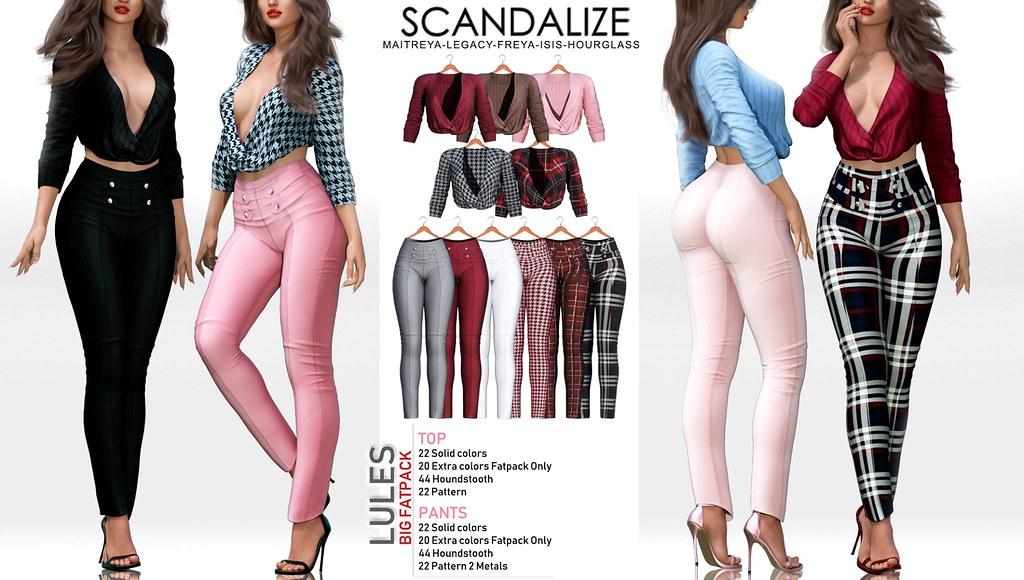 Scandalize – Lules  @ equal10