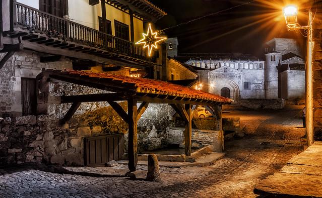 La navidad llega a Santillana del Mar