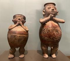 Anthropomorphic Figure, Culture Carchi-Pasto (750 d.C. - 1550 d.C.), the Casa del Alabado Museum of Pre-Columbian Art, Quito´s Historic Center at an elevation of 2,850 metres (9,350 ft) above sea level, Ecuador.