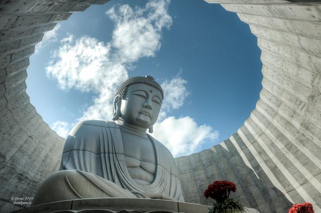 Hill of the Buddha 頭大仏 Makomanai Takino Cemetery - Sapporo, Japan