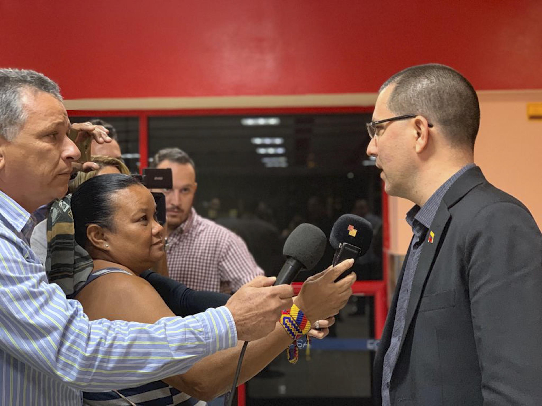 """Canciller Jorge Arreaza """"ALBA TCP es una alianza de los pueblos, va más allá de los gobiernos"""""""