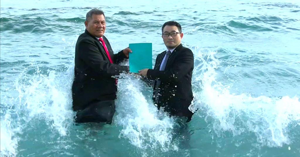 吐瓦魯任命台藝術家為全球首位「氣候緊急大使」
