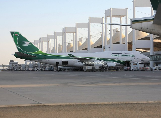 Iraqi Airways                                     Boeing 747                                      YI-AQQ