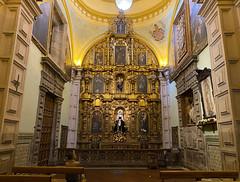 The Chapel of Señor Jesús del Gran Poder, el San Francisco at an elevation of 2,818 meters (9,245 ft) above sea level, Ecuador.