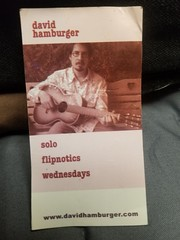 David Hamburger magnet from Flipnotics!