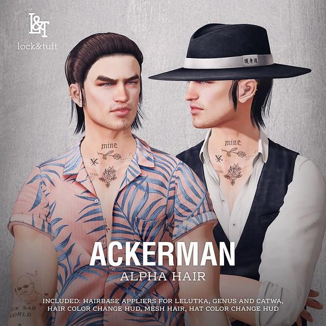 lock&tuft - Ackerman @ equal10