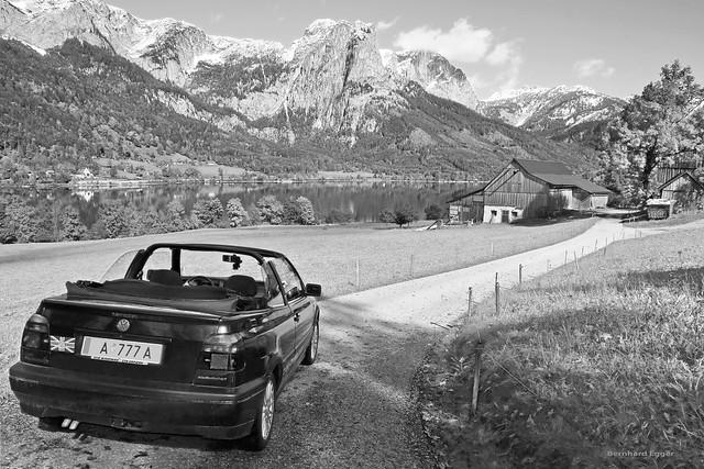 Landscape Grundlsee Ausseerland Styria Austria 奥地利 (c) 2020 Bernhard Egger :: rumoto images 8015 bw