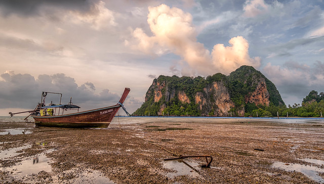 East Railay Low Tide