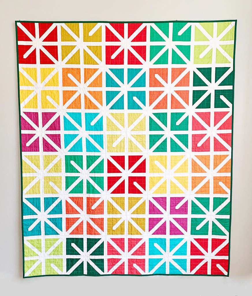The Zola Christmas Quilt - Kitchen Table Quilting