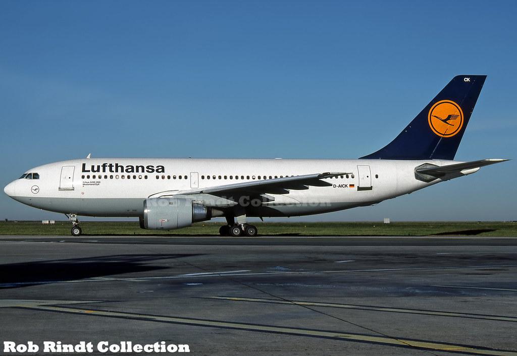Lufthansa A310-203 D-AICK