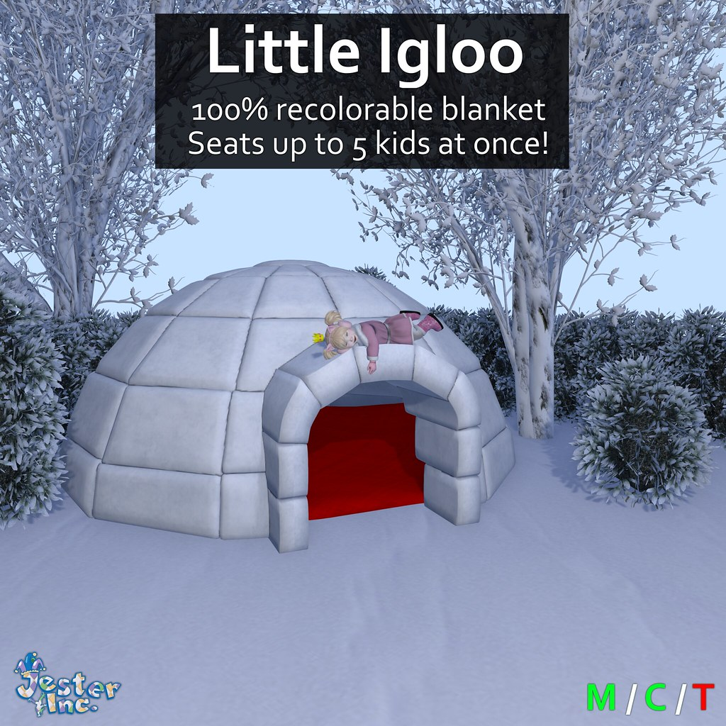 Presenting the new Little Igloo from Jester Inc.