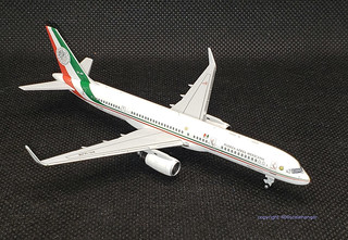 Mexican Airforce B757-200 by MG models.  1.400 scale. | by dc10forlife