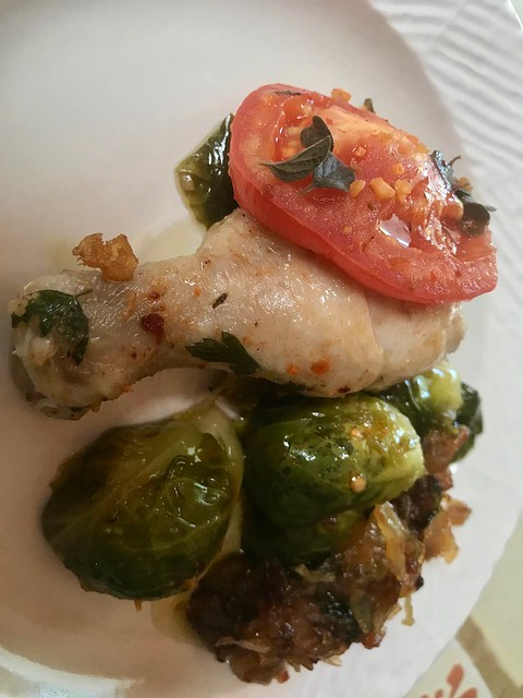 Colorful Healthy Entree Plated