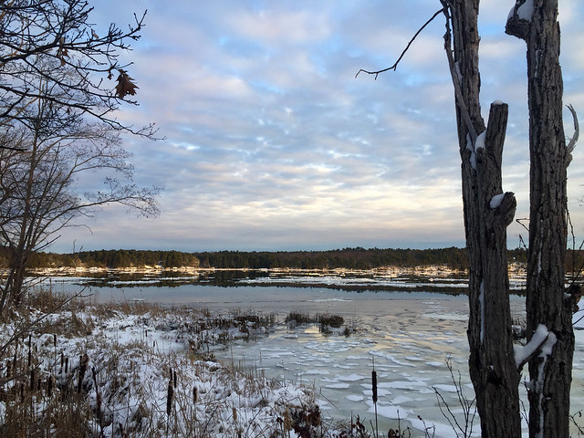 Kennebec River ~ Winter Series no. 1