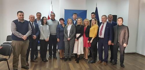 უკრაინის დელეგაციის სასწავლო ვიზიტი / 12.12.19 / Study Visit of Ukrainian Delegation