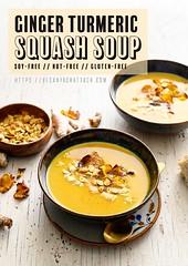 Ginger Turmeric Squash Soup